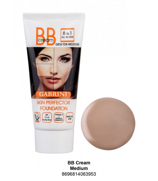 GABRİNİ BB Cream Fondöten Medium