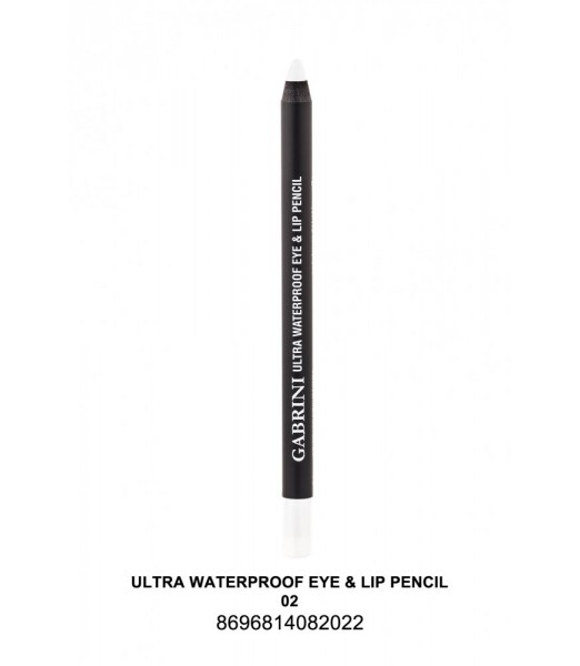 GABRİNİ Ultra Waterproof Lip& Eye Pencil 02