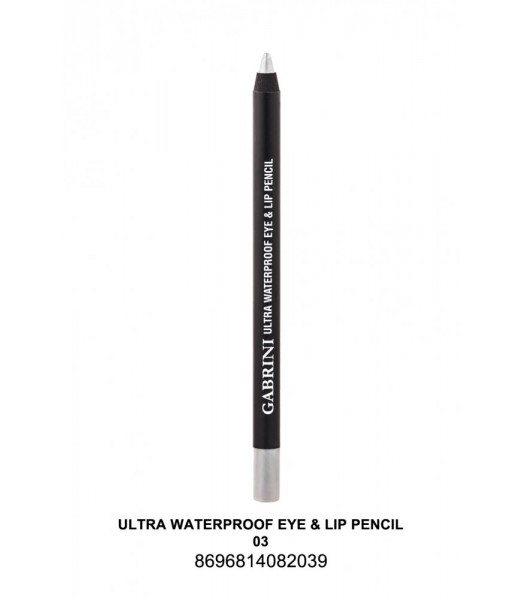 GABRİNİ Ultra Waterproof Lip& Eye Pencil 03