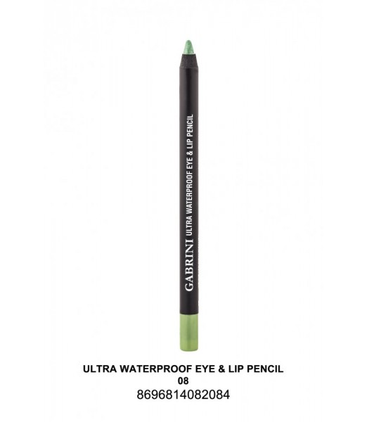 GABRİNİ Ultra Waterproof Lip& Eye Pencil 08