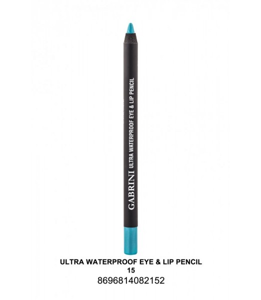 GABRİNİ Ultra Waterproof Lip& Eye Pencil 15