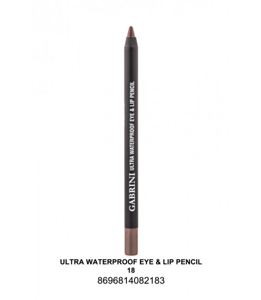 GABRİNİ Ultra Waterproof Lip& Eye Pencil 18