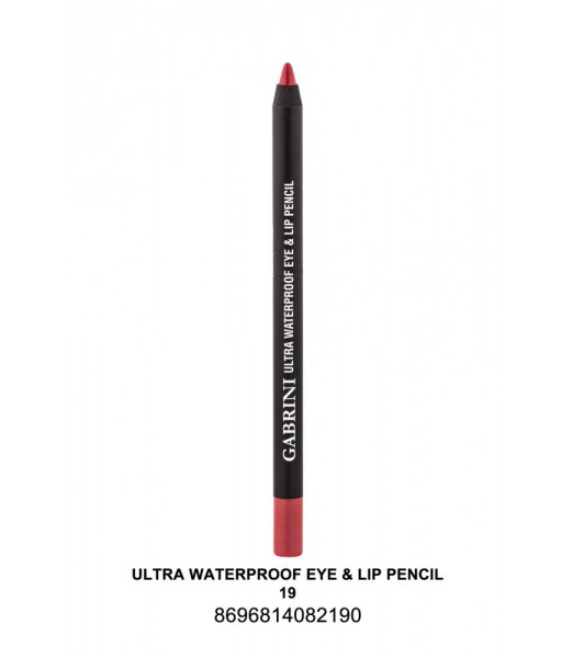 GABRİNİ Ultra Waterproof Lip& Eye Pencil 19