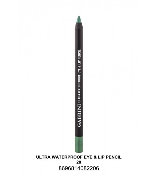 GABRİNİ Ultra Waterproof Lip& Eye Pencil 20