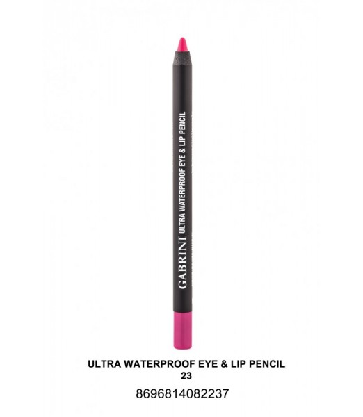 GABRİNİ Ultra Waterproof Lip& Eye Pencil 23