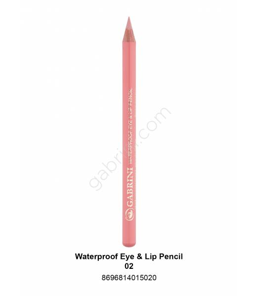 GABRİNİ WATERPROOF EYE & LİP PENCİL 02