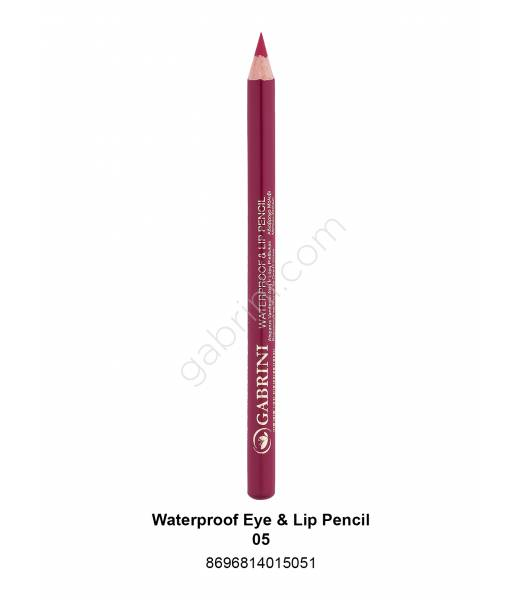 GABRİNİ WATERPROOF EYE & LİP PENCİL 05