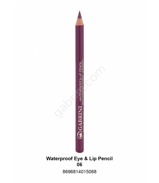 GABRİNİ WATERPROOF EYE & LİP PENCİL 06