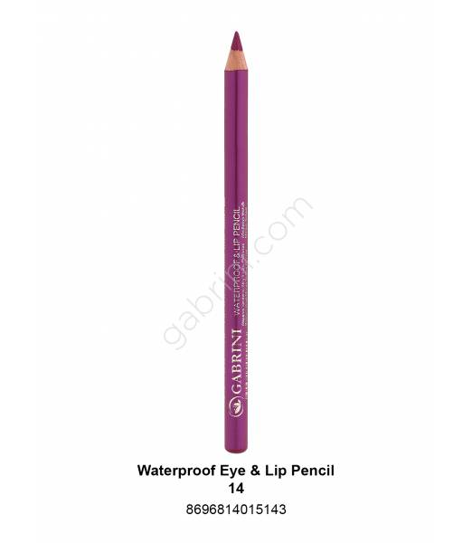 GABRİNİ WATERPROOF EYE & LİP PENCİL 14
