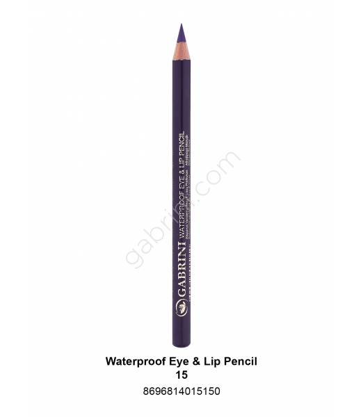 GABRİNİ WATERPROOF EYE & LİP PENCİL 15