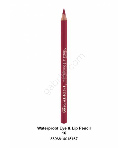 GABRİNİ WATERPROOF EYE & LİP PENCİL 16