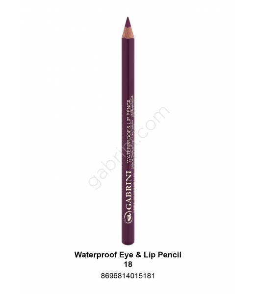 GABRİNİ WATERPROOF EYE & LİP PENCİL 18