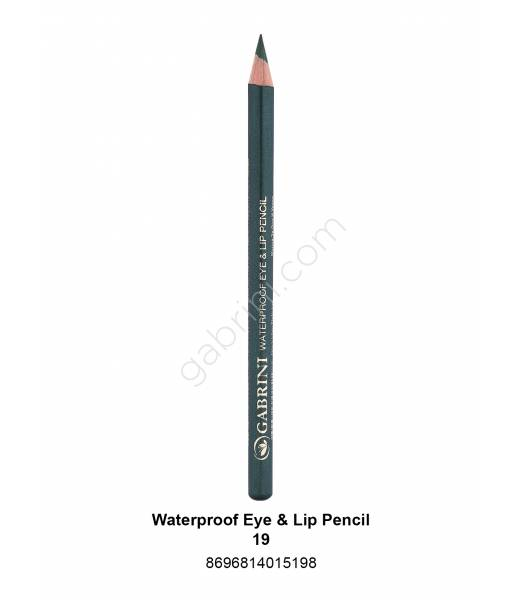 GABRİNİ WATERPROOF EYE & LİP PENCİL 19