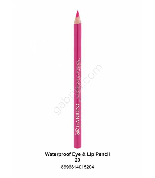 GABRİNİ WATERPROOF EYE & LİP PENCİL 20