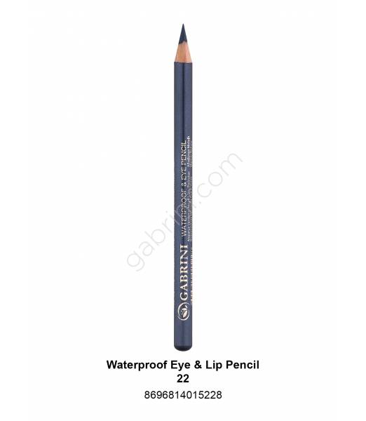 GABRİNİ WATERPROOF EYE & LİP PENCİL 22