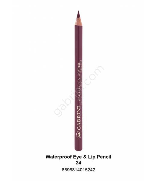 GABRİNİ WATERPROOF EYE & LİP PENCİL 24