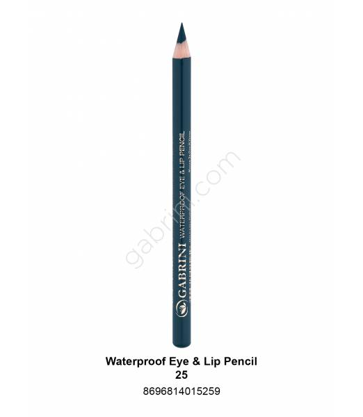 GABRİNİ WATERPROOF EYE & LİP PENCİL 25