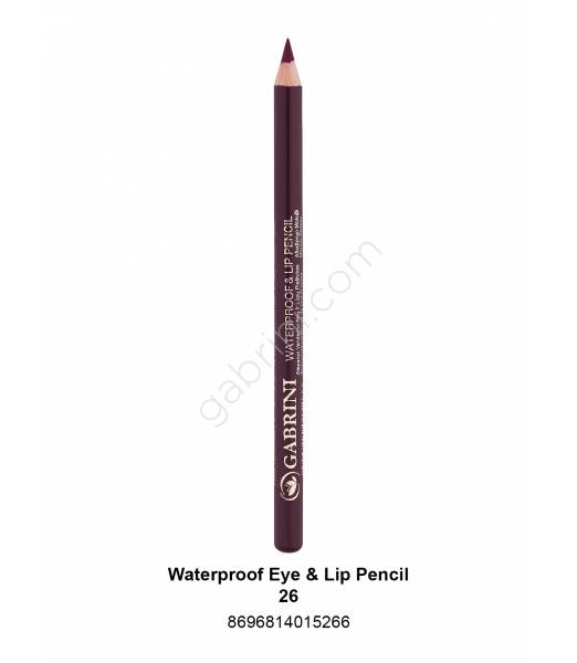 GABRİNİ WATERPROOF EYE & LİP PENCİL 26