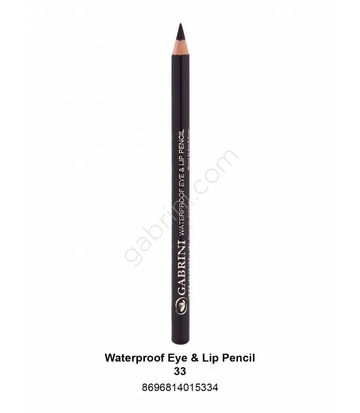 GABRİNİ WATERPROOF EYE & LİP PENCİL 33