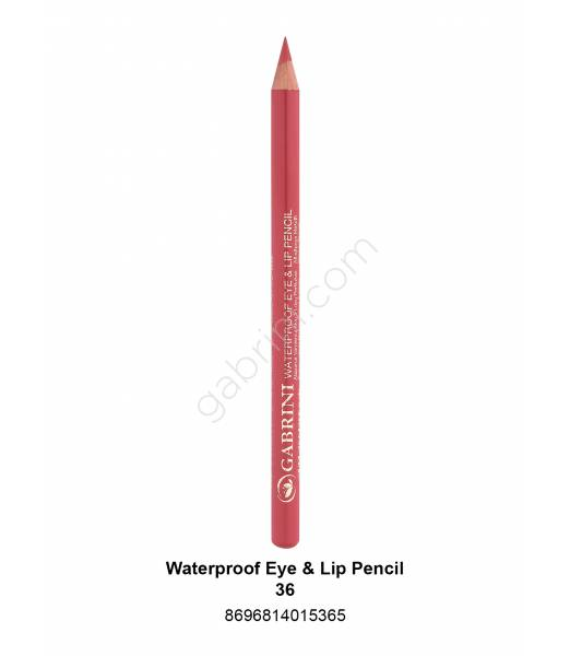 GABRİNİ WATERPROOF EYE & LİP PENCİL 36
