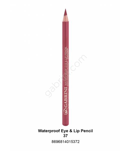GABRİNİ WATERPROOF EYE & LİP PENCİL 37