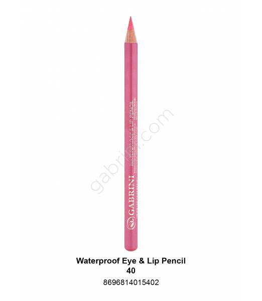 GABRİNİ WATERPROOF EYE & LİP PENCİL 40