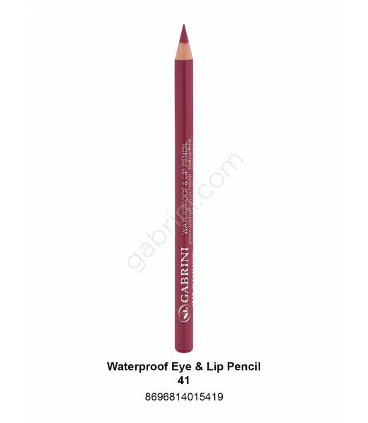 GABRİNİ WATERPROOF EYE & LİP PENCİL 41