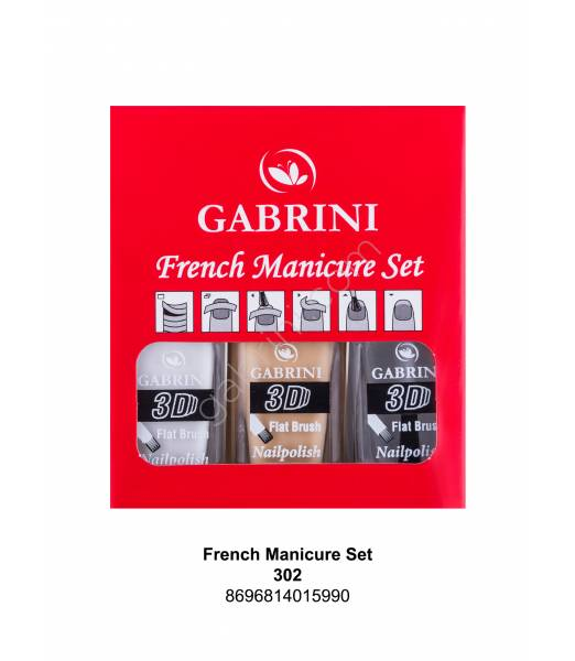 GABRİNİ FRENCH MANICURE SET
