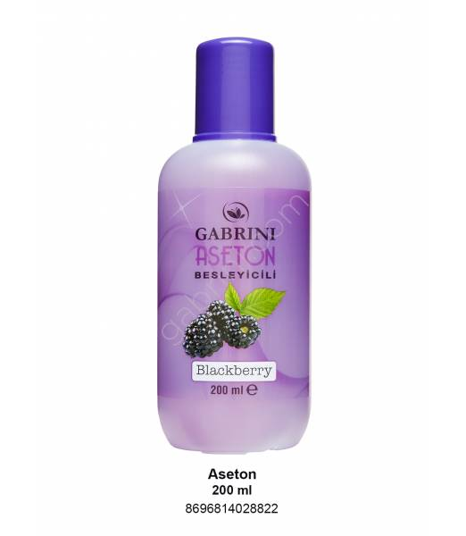 GABRİNİASETON 200 ML (BÖĞÜRTLEN)