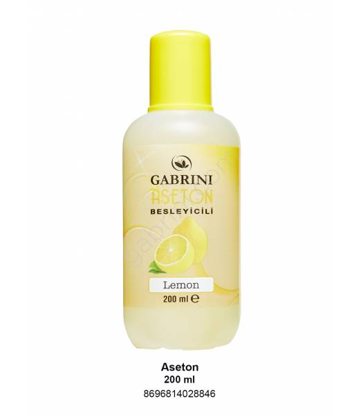 GABRINI ASETON 200 ML (LİMON)