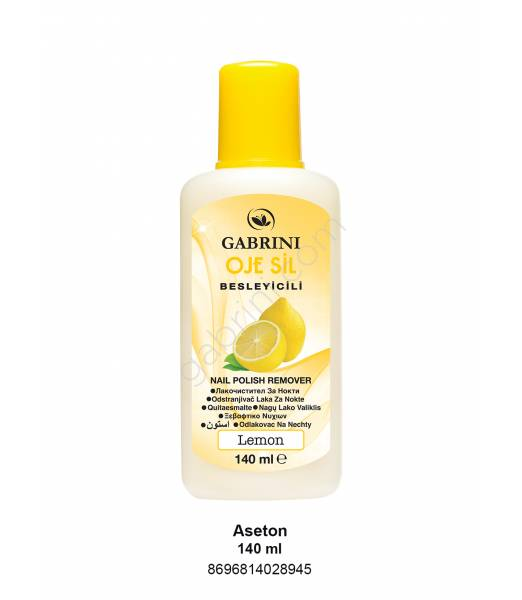 GABRINI ASETON 140 ML (LİMON)