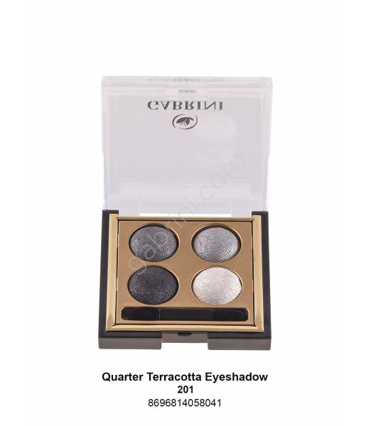 GABRİNİ  TERRACOTTA QUARTED EYESHADOW 201