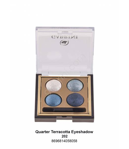 GABRİNİ  TERRACOTTA QUARTED EYESHADOW 202