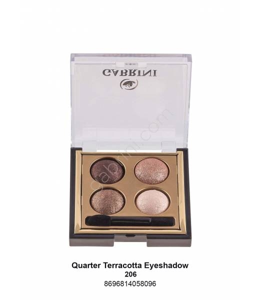 GABRİNİ  TERRACOTTA QUARTED EYESHADOW 206