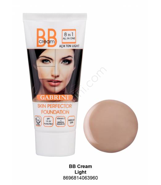 BB Cream 8 IN 1 ALL IN ONE AÇIK TON LIGHT