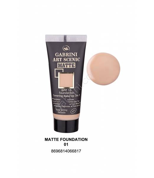 GABRİNİ MATTE FOUNDATION 01