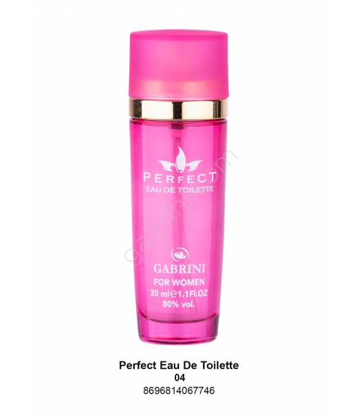 GABRİNİ PERFECT MİNİ EDT BAYAN 35 ML NO:04