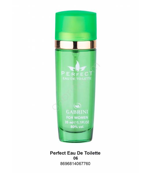 GABRİNİ PERFECT MİNİ EDT BAYAN 35 ML NO:06