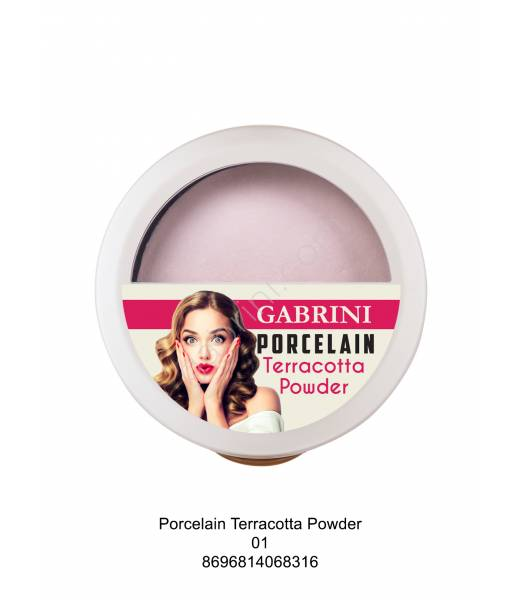 GABRİNİ PORCELAIN TERRACOTTA POWDER 01