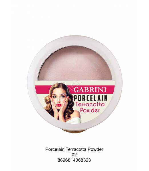 GABRİNİ PORCELAIN TERRACOTTA POWDER 02