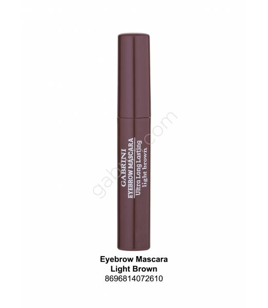 GABRİNİ EYEBROW MASCARA LİGHT BROWN