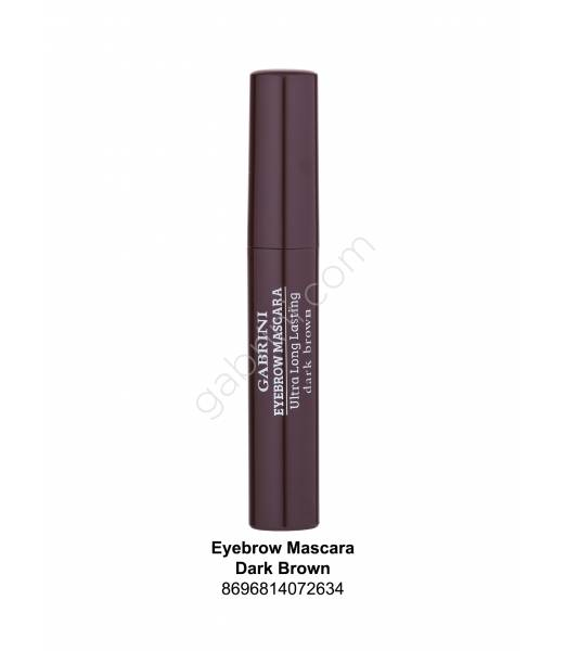 GABRİNİ EYEBROW MASCARA DARK DROWN