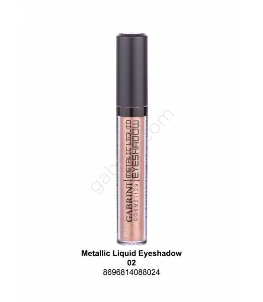 GABRİNİ METALIC LIQUID EYESHADOW 02
