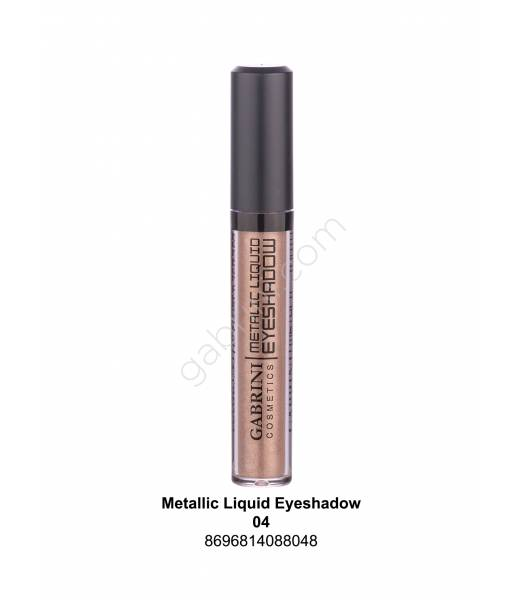 GABRİNİ METALIC LIQUID EYESHADOW 04