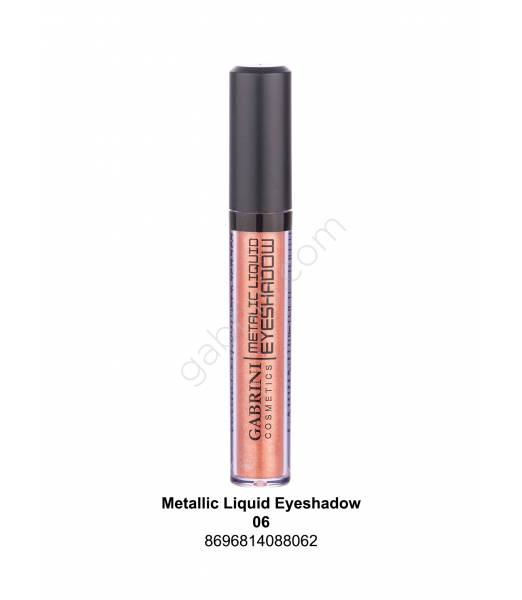 GABRİNİ METALIC LIQUID EYESHADOW 06