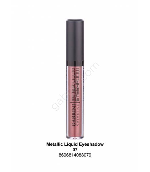 GABRİNİ METALIC LIQUID EYESHADOW 07