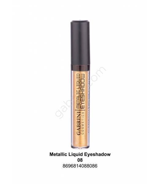 GABRİNİ METALIC LIQUID EYESHADOW 08
