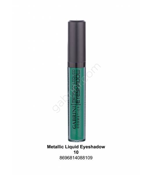 GABRİNİ METALIC LIQUID EYESHADOW 10