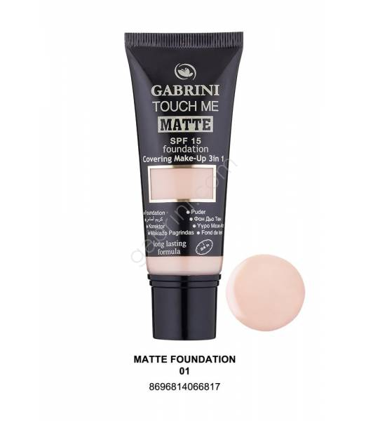 GABRINI MATTE FOUNDATION 01