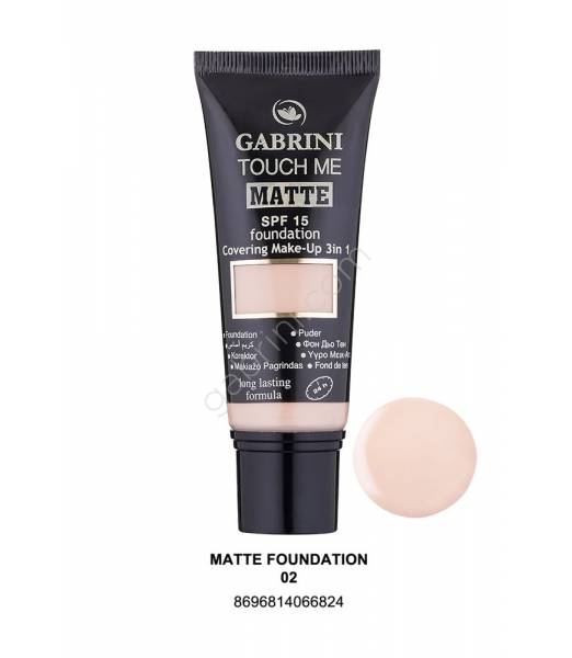 GABRINI MATTE FOUNDATION 02